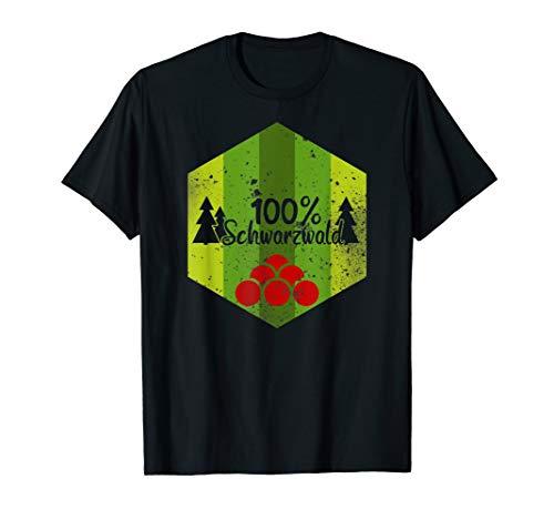 100% Schwarzwald T-Shirt   Schwarzwälder -