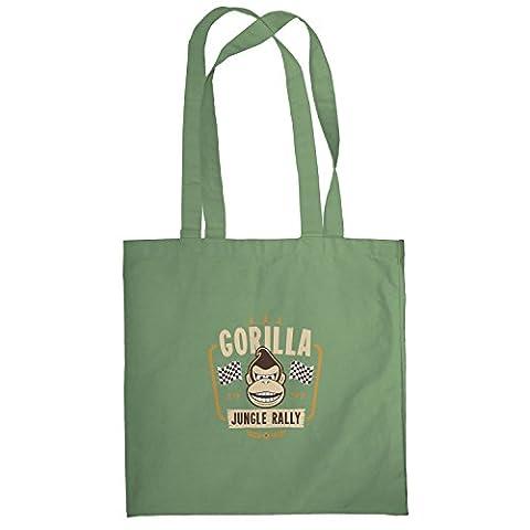 TEXLAB - Gorilla Jungle Rally - Stoffbeutel, oliv