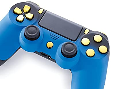 Controller, Blue Shadow/Gold (PS4)