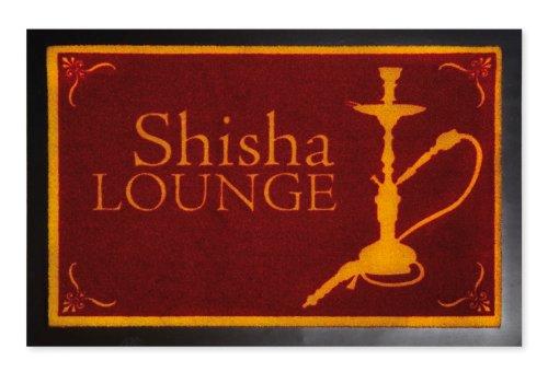 Fussmatte SHISHA LOUNGE, Fußabtreter Türvorleger