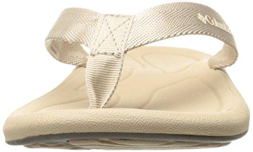 Columbia Womens Caprizee Flip Athletic Sandal Oxford Tan/Fawn