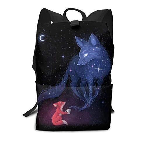 Fox Galaxy Rucksack Middle für Kinder Jugendliche Schulreisetasche -