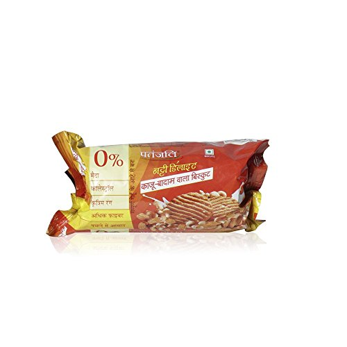 Patanjali Biscuits - Nutty Delight, 70g Pack