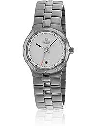 Obaku Damen-Armbanduhr Analog Quarz Edelstahl beschichtet V111LCWSC-S