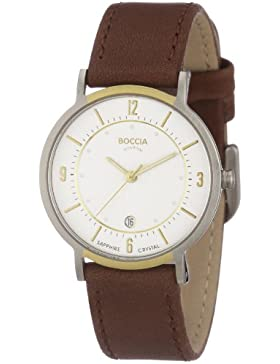 Boccia Damen-Armbanduhr Mit Lederarmband Dress 3154-03
