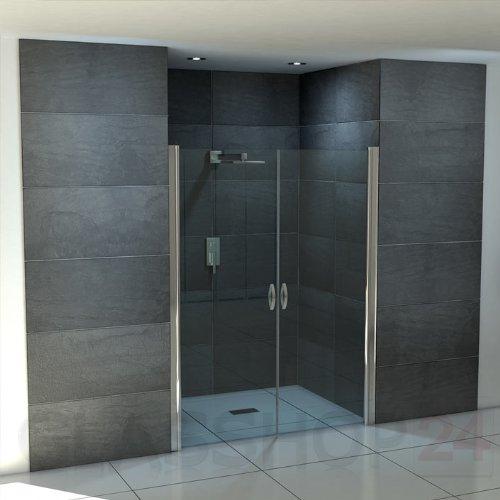 hochwertige design duschabtrennung mit lotuseffekt duschvorhang. Black Bedroom Furniture Sets. Home Design Ideas