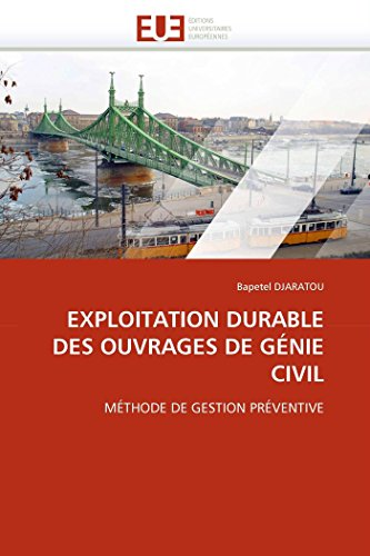 Exploitation durable des ouvrages de génie civil par Bapetel DJARATOU