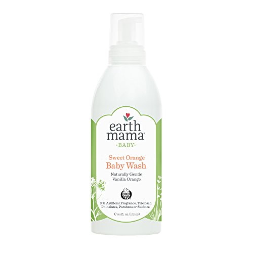 Earth Mama Angel Baby Shampoo & Body Wash, 34 Oz, (1 Liter)