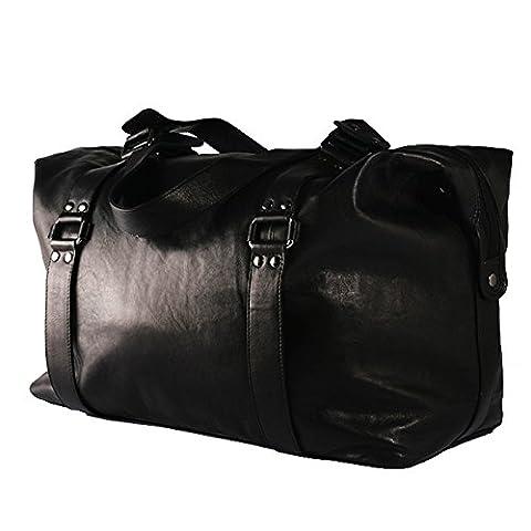 BACCINI Weekender GRETA - Reisetasche - Sporttasche - echt Leder schwarz