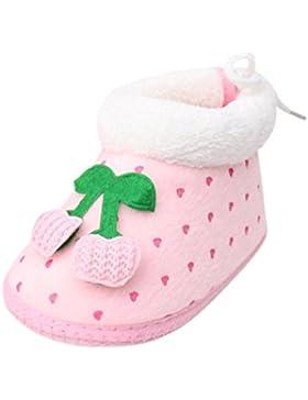 Fuibo Babyschuhe, Herbst Weichen Baby Stiefel Slip On Infant Mädchen Jungen Schuhe Winter Warme Schuhe Stiefel