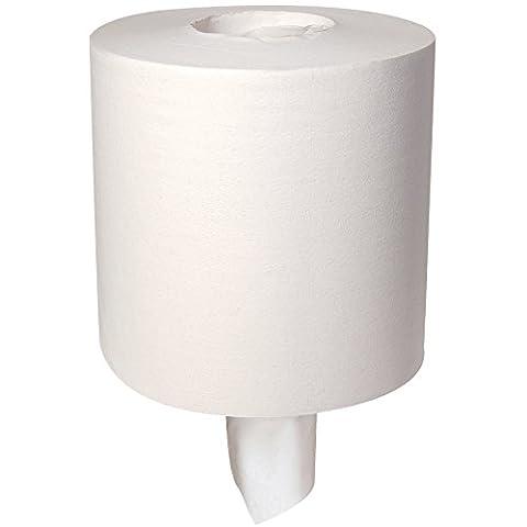 Georgia-Pacific Acclaim 44110 White 1-Ply Centerpull Perforated Towel, 12