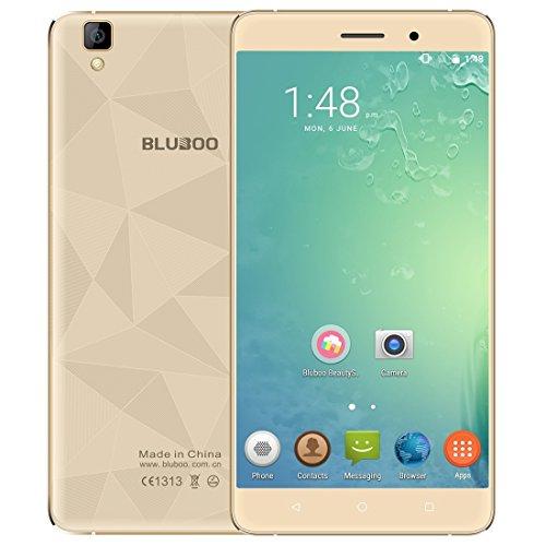 Bluboo Maya Entsperrtes Smartphone 2GB + 16GB 14cm 3G Netzwerk Android 6.0mtk6580a Quad Core bis zu 1,3GHz (Mobile Entsperrt Handys)
