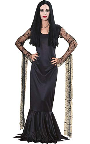 Morticia (The Addams Family) - Licensed Adult Costume Lady : MEDIUM