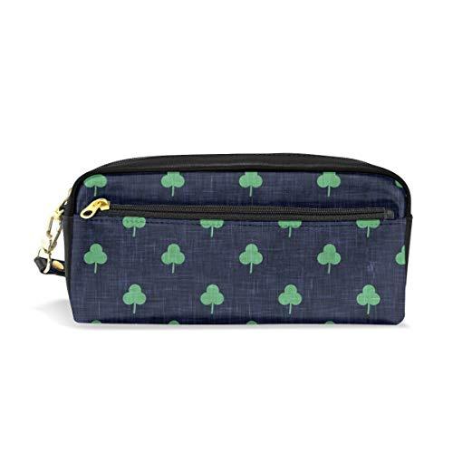 che Shamrock On Blue_281 Kosmetiktaschen Federmäppchen Portable Travel Makeup Organizer Multifunktions-Tasche Taschen für Frauen ()