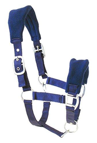 JF de hípica de Nailon–Cabestro Cubierto COB, Royal Blue, Pura Sangre, aha DE 05–01–03