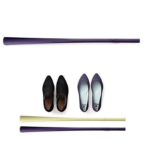 Normann Copenhagen - Schuhlöffel, Schuhanzieher - Farbe: Lila - Länge: 72 cm - Kunststoff