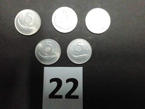 8e3c4d4872 Usato, Generico Lire 5 Delfino – Aratro Lotto 5 Monete usato Spedito  ovunque in Italia