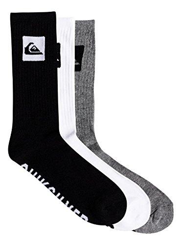 Quiksilver 3 Pack - Crew Socks - Crew Socken - Männer - ONE SIZE - Mehrfarbig (Socken Crew Skate)