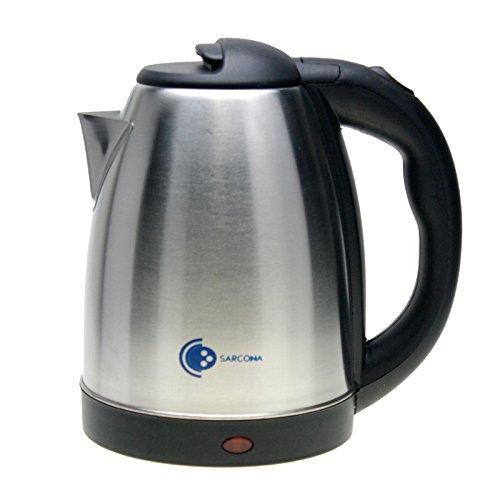 1.8 Liter Wasserkocher Teekocher 1800 Watt Silber