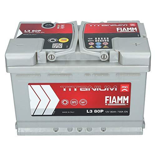 Fiamm Titanium Pro L380P Batteria 80Ah 12V