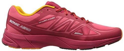 Salomon Sonic Aero Women's Chaussure De Course à Pied - SS16 madder pink/lotus pink/yellow gold