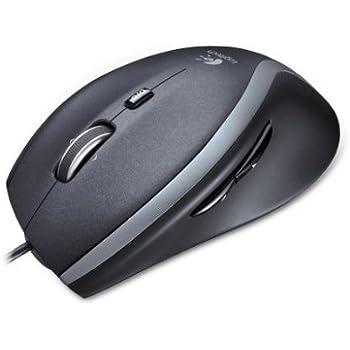 Logitech 910-003725 Corded Laser M500 Mouse, Nero