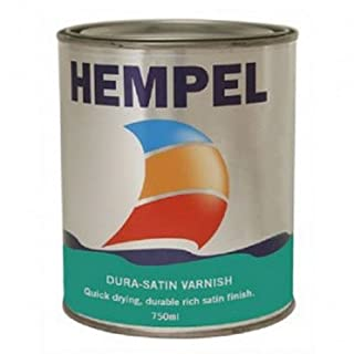 hempel dura-satin varnish 02040 0,75 ltr