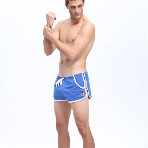 Bluestercool Pantaloncini Sportivi Uomo Sport Boxer Blu