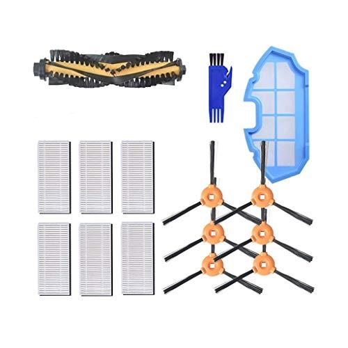 MaxDirect Kit de Recambios de Accesorios para Aspiradora Robot Cecotec Conga Excellence 990 - Cepillo Lateral, Cepillo Central, Filtro HEPA, Filtro Esponja - Pack de 21 PCS