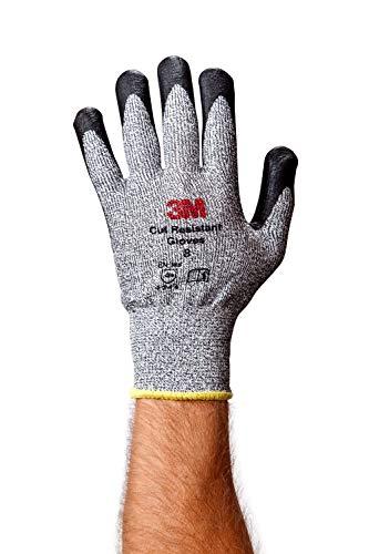 Cgm-cr Comfort Grip Gants - L3 Cut résistant, L, gris, 1