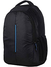 DRAZO Outbox Polyester 15 L School Bag with Laptop Compartment (Blue)