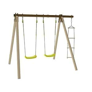 PIKI Portique bois/métal Trigano 1,90 m de hauteur