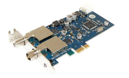 DVBSky T9580 PCIe Karte mit 1x DVB-S2 und 1x DVB-T2 / DVB-C Tuner