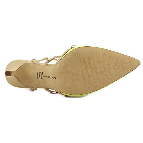INC International Concepts Carma Simili daim Talons Chartreuse