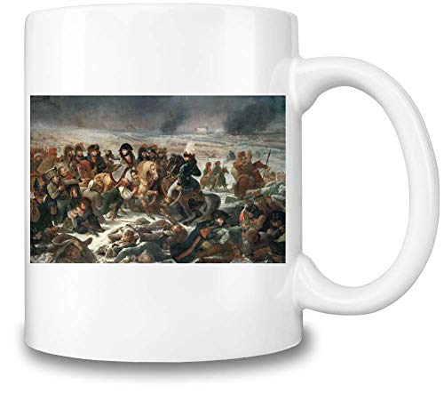 Top Paintings of All Time Antoine-Jean Gros - Napoleon on The Battlefield of Eylau Painting Coffee Mug Ceramic Coffee Tea Beverage Kitchen Mugs by - Napoleon Top