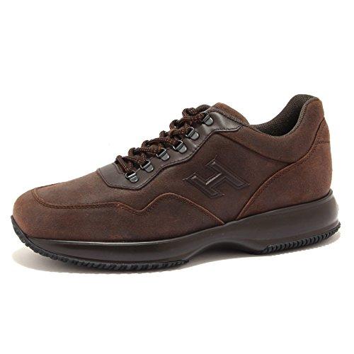 Hogan 6871U sneaker uomo INTERACTIVE TREKKING marrone shoe men Marrone