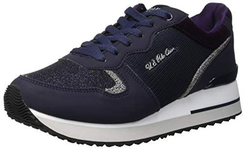 U.S. Polo Assn. TUZLA, Sneaker Donna, Blu (Dark Blue Dk Bl), 37 EU