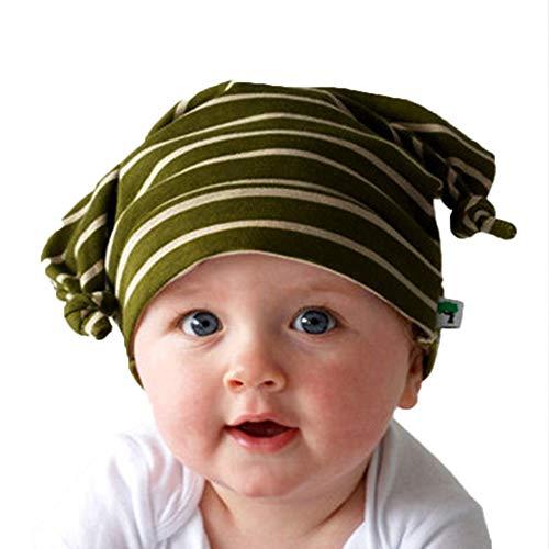 QinMM Neugeborenen Baumwolle Hut, Neue TOP Baby Infant Kleinkind Mädchen Boy Cap Mützen Foto Prop - Fleece-flap Hat