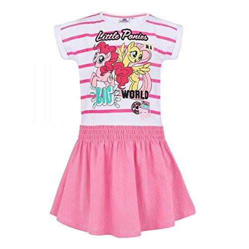 , weiß-rosa, Gr. 92-128 Größe 104 (My Little Pony-rock)