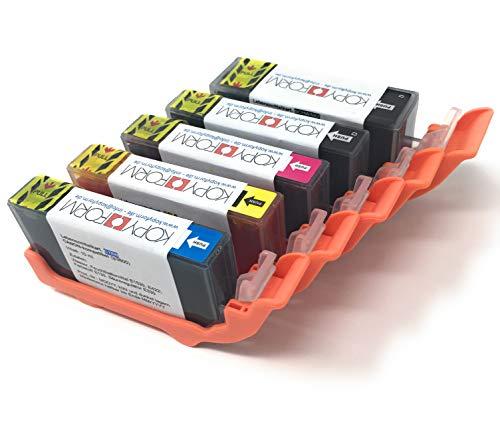 KOPYFORM Lebensmitteltinte Patronen-Set Canon-kompatibel (PGI-520/CLI-521, z.B. IP3600) - TK110