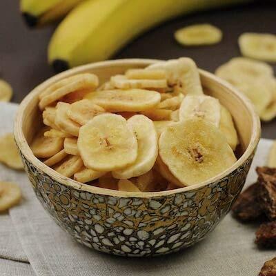 1kg Bio Bananenchips geröstet, mit Bio Rohrzucker gesüßt aus kbA - 5