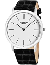 Stuhrling Original Ascot Analog White Dial Men's Watch - 601.33152