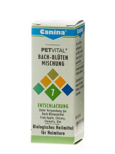Artikelbild: Canina 71460 5 Petvital Bachblüten Nr. 7 Entschlackung 10 g - für Tiere