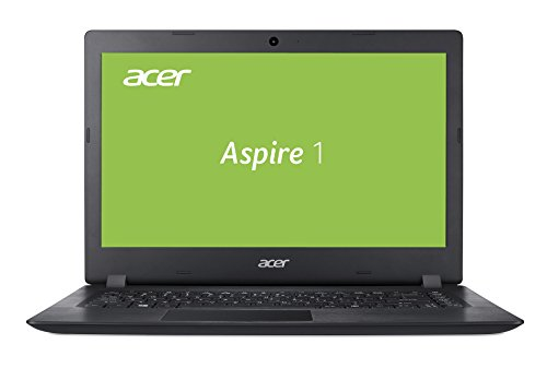 Acer Aspire 1 A114-31-P0K1 35,6 cm (14 Zoll Full-HD matt) Multimedia Notebook (Intel Pentium N5000, 4 GB RAM, 64 GB eMMC, Intel UHD, Win 10 im S Modus) schwarz
