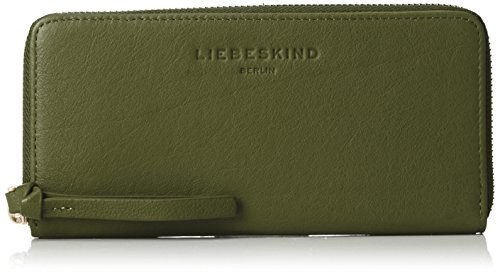 Liebeskind Berlin Damen Gigif8 Hiddvi Geldbörse, Grün (Hunter Green), 3x10x21 - Hunter Green-zubehör