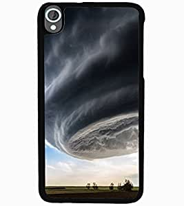 ColourCraft Hurricane Design Back Case Cover for HTC DESIRE 820