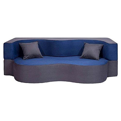 Homemania aramis feelings divano letto macaron blu