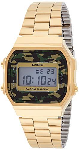 Casio A168WEGC-3DF (D146) Vintage Series Digital Watch For Unisex
