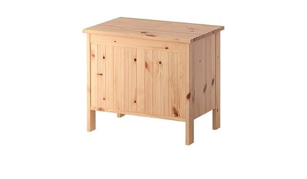 Baule Legno Ikea : Ikea silverån panca cassapanca in legno di colore marrone chiaro