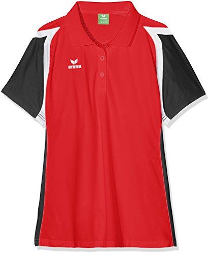 erima Damen Poloshirt Razor 2.0 Rot/Schwarz/Weiß